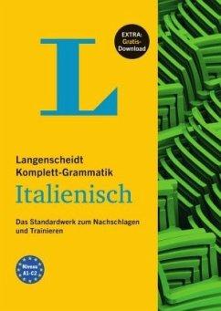 Langenscheidt Komplett-Grammatik Italienisch - Buch mit Übungen zum Download - Gorini, Umberto