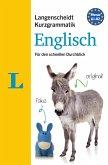Langenscheidt Kurzgrammatik Englisch - Buch mit Download
