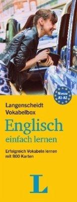 Langenscheidt Vokabelbox Englisch einfach lernen - Box mit Karteikarten - Langenscheidt, Redaktion