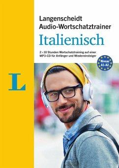 Langenscheidt Audio-Wortschatztrainer Italienisch für Anfänger, 1 MP3-CD