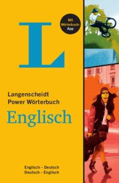 Langenscheidt Power Wörterbuch Englisch - Buch mit Wörterbuch-App