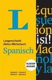 Langenscheidt Abitur-Wörterbuch Spanisch - Buch und App