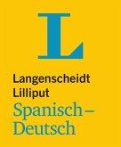 Langenscheidt Lilliput Spanisch-Deutsch - im Mini-Format