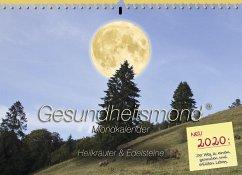 Gesundheitsmond®-Mondkalender 2020. Goldene Edition DIN A4 - Römer, Michael
