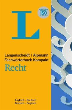 Langenscheidt Fachwörterbuch Kompakt Recht Englisch - G. Bugg, Stuart; Simon, Heike