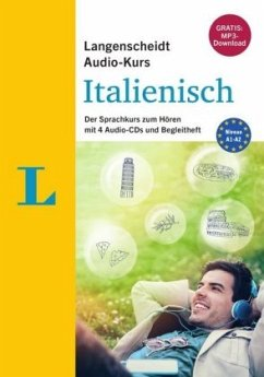 Langenscheidt Audio-Kurs Italienisch - Audio-CDs mit Begleitheft