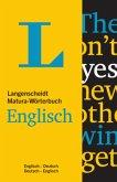 Langenscheidt Matura-Wörterbuch Englisch - Buch mit Wörterbuch-App
