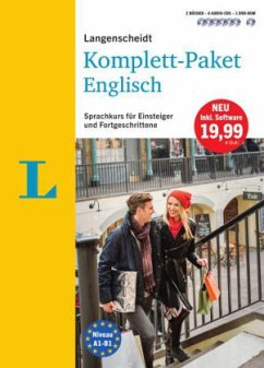 Langenscheidt Komplett-Paket Englisch - Sprachkurs mit 2 Büchern, 6 Audio-CDs, 1 DVD-ROM, MP3-Download - Hilborne-Clarke, David; Oldham, Peter