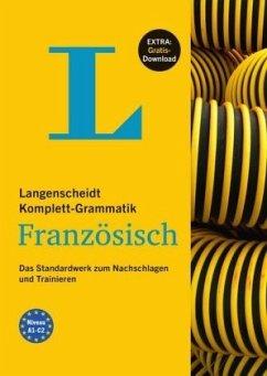 Langenscheidt Komplett-Grammatik Französisch - Buch mit Übungen zum Download - Matthiessen-Behnisch, Charlotte