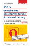 SGB IV - Allgemeine Vorschriften für die Sozialversicherung (eBook, PDF)