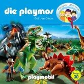 Die Playmos - Das Original Playmobil Hörspiel, Folge 30: Bei den Dinos (MP3-Download)