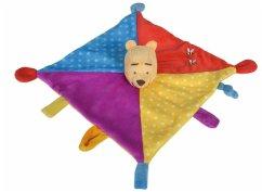 Simba 6315876549 - Disney Winnie the Pooh 3D Schmusetuch Color