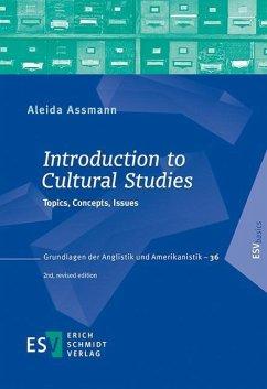 Introduction to Cultural Studies - Assmann, Aleida