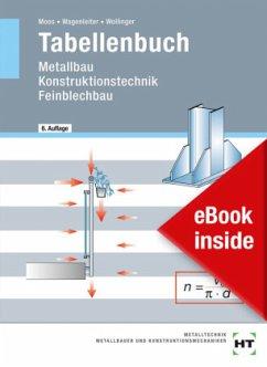 eBook inside: Buch und eBook Tabellenbuch - Moos, Josef; Wagenleiter, Hans Werner; Wollinger, Peter