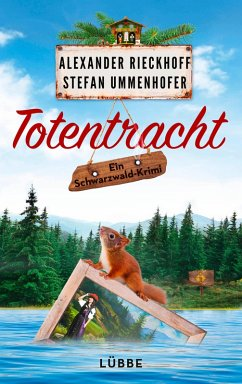 Totentracht / Schwarzwald-Krimi Bd.1 (eBook, ePUB) - Rieckhoff, Alexander; Ummenhofer, Stefan