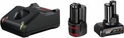 Bosch Standard Starter Set 1x2.0Ah + 1x4.0Ah +GAL 12V-40