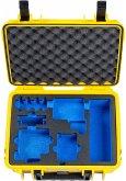 B&W GoPro Case Type 1000 Y gelb mit GoPro 5 6 7 Inlay