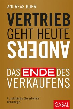 Vertrieb geht heute anders (eBook, PDF) - Buhr, Andreas