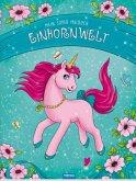 Mein Super-Malbuch Einhornwelt