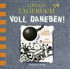 Voll daneben! / Gregs Tagebuch Bd.14 (1 Audio-CD) - Kinney, Jeff