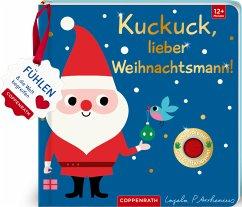 Mein Filz-Fühlbuch: Kuckuck, lieber Weihnachtsmann!