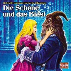Die Schöne und das Biest, 1 Audio-CD - Barbot de Villeneuve, Gabrielle-Suzanne