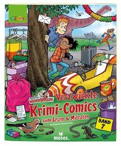 GEOlino Wadenbeißer - Verzwickte Krimi-Comics zum Lesen & Mitraten Band 7 - Rometsch, Ina