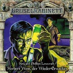 Herbert West, der Wieder-Erwecker / Gruselkabinett Bd.150 (1 Audio-CD) - Lovecraft, H. P.