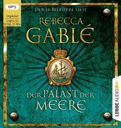 Der Palast der Meere / Waringham Saga Bd.5 (4 MP3-CDs) - Gablé, Rebecca