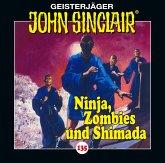 Ninja, Zombies und Shimada / Geisterjäger John Sinclair Bd.135 (1 Audio-CD)
