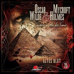 Altes Blut / Oscar Wilde & Mycroft Holmes Bd.25 (1 Audio-CD) - Maas, Jonas