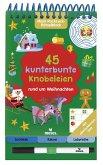Mein Ruckzuck-Rätselblock: 45 kunterbunte Knobeleien rund um Weihnachten