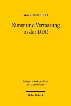 Kunst und Verfassung in der DDR (eBook, PDF) - Weichert, Maik