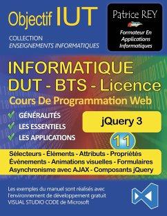 DUT Informatique - jQuery 3 (Tome 11)