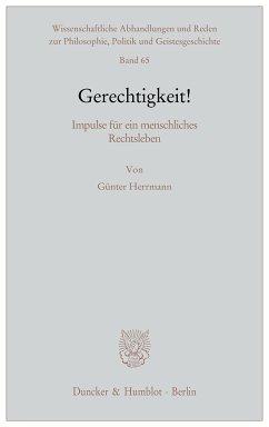 Gerechtigkeit! (eBook, ePUB) - Herrmann, Günter