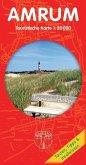 Amrum - Touristische Karte 1 : 20 000