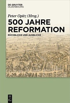 500 Jahre Reformation (eBook, ePUB)