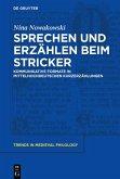 Sprechen und Erzählen beim Stricker (eBook, ePUB)