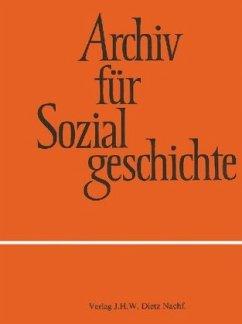 Archiv für Sozialgeschichte, Band 59 (2019)