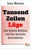 Tausend Zeilen Lüge (eBook, ePUB)