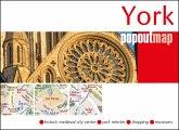 York Popout Single Map