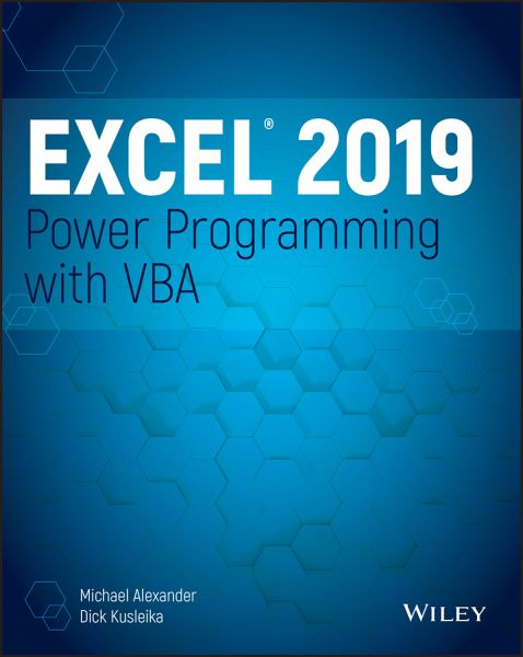 Excel 2019 Power Programming with VBA (eBook, ePUB)