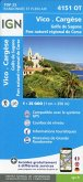 4151OT Vico Cargèse Golfe des sagone Parc National de Corse