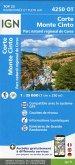 IGN Karte, Carte de randonnée (et plein air) Corte Monte Cinto Parc National de Corse