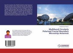 Multiband Circularly Polarized Fractal Boundary Microstrip Antennas