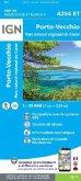 IGN Karte, Carte de randonnée (et plein air) Porto Vecchio Parc National de Corse