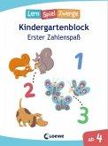 LernSpielZwerge, Kindergartenblock - Erster Zahlenspaß