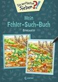 Die verflixten Sieben - Mein Fehler-Such-Buch - Dinosaurier