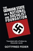 The German State on a National and Socialist Foundation (eBook, ePUB)