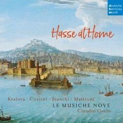 Hasse At Home - Kantaten Und Sonaten - Le Musiche Nove/Osele,Claudio